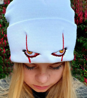 Hat Pennywise Unisex Winter Soft Halloween Hood Hat for Kids Casual Outside Hat