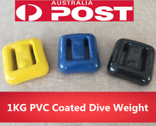 Land & Sea Lead PVC Coated Dive Weight 1KG