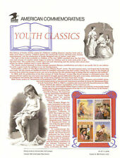 #427 29c Youth Classics #2785-2788 USPS Commemorative Stamp Panel