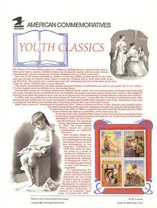 #427 29c Youth Classics #2785-2788 USPS Commemorative Stamp Panel