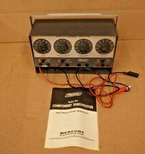 Mercury Resistor Amp Capacitor Box Component Substitutor Model 501 Leads Amp Manual