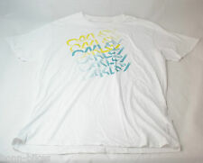soybu T-shirt pour femmes Blanc-Gris Taille XL NOUVEAU #K114