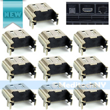 10 pcs HDMI Port Socket Connector Replacement Part for Sony Playstation 4 PS4