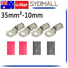4x Battery Cable Lead Lug 35-10 Terminals for Electrical wire Crimp Crimper OZ