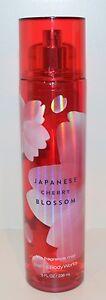 BATH & BODY WORKS JAPANESE CHERRY BLOSSOM FRAGRANCE MIST SPRAY SPLASH LARGE 8OZ