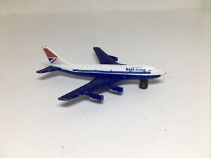 Matchbox Lesney Prod Skybusters British Airways Boeing 747 Jet Aircraft 1973
