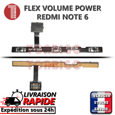 Nappe bouton ON OFF XIAOMI REDMI NOTE 6 PRO power volume up down flex ribbon