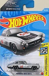 Hot Wheels Mercedes-Benz 300 SL IWC Racing 2021 New Release L Box