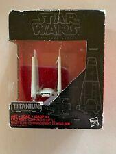 Hasbro Star Wars The Black Series Titanium Kylo Rens Command Shuttle #3