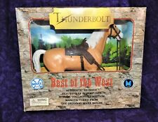 Marx Toys 2000 Release Best Of The West Thunderbolt Horse Reissue /Good Cond.