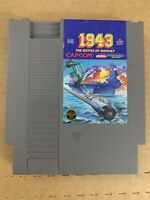 1943 Nintendo Nes Cartridge Only 100% Authentic Cleaned & Tested Capcom