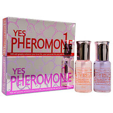 2 Bottles Pack Pheromone Perfume Cologne Pheromones Parfum for WOMEN Attract Men