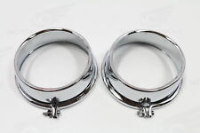 Honda GL 1000 CHROME BOUCHONS Instruments Gauge Covers