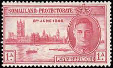 Scott # 108 - 1946  - ' Peace Issue ', King George VI & Parliament Buildings