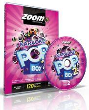 Zoom Karaoke Pop Box 2 - 4 (Region Free) DVD Set - 120 Karaoke Hits!