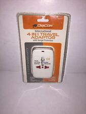International 4-in-1 Travel Adaptor with Surge Protector 110- to 240 Volt