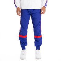 Kappa Pants 222 Banda Braka Blue Royal Red Mens Size XL Windbreaker Running