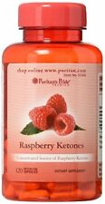 Puritan's Pride Raspberry Ketones 100 mg - 120 Rapid Release Capsules