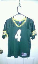 Green bay packers brett favre youth large 14-16 jersey