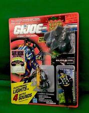 "GI JOE Electronic SUPER SONIC FIGHTERS ""MAJOR BLUDD"" NIC 1990 By Hasbro"
