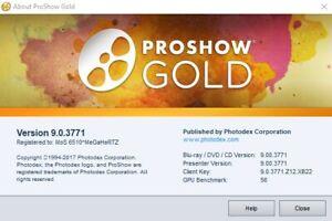 Photodex ProShow Gold 9.0 ✔️ Full Version of 2020 ⭐license  LifeTime ⭐✔️Trusted