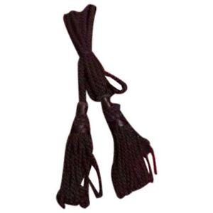 Scottish Great Highland Bagpipe Drone Cord Silk Black Color/Bagpipe Silk Cords