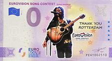 BILLET 0  EURO EUROVISION SONG CONTEST 2 COULEUR  2021  NUMERO DIVERS