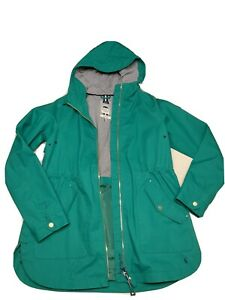 Joules Green Shoreside Raincoat US Size 6 NWT