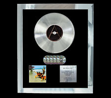 PRODIGY THE FAT OF THE LAND  MULTI (GOLD) CD PLATINUM DISC FREE POSTAGE!!