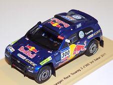 1/43 Spark Volkswagen Race Touareg Car #300 3rd place of 2011 Dakar S0825