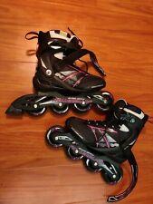 Rollerblades Zetrablade Women Size 7 Inline Skates 82mm Worn Once Very Nice Cond