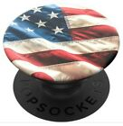 Popsockets Oh Say Can You See USA Flag Cell Phone PopGrip Swappable for Phones