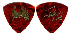 Great White Guitar Pick : 1993 Tour Teddy Cook gold tortoise bass