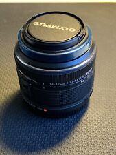 Olympus M.Zuiko EZ-M1442-2 14-42mm f/3.5-5.6 II Lens Black