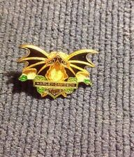 HARLEY DAVIDSON MOTORCYCLE ENAMELED BAT AND SNAKE PIN