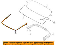 FORD OEM 15-18 Mustang Convertible Top-Rear Molding FR3Z76423A20AE