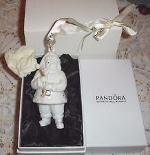 Pandora Bianco Babbo Natale Babbo Natale Ornamento 2013 Ltd Edition Nuovo in Scatola