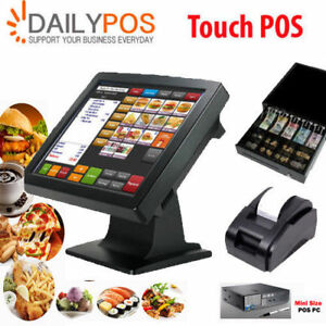 Touch Screen POS Cash Register for Pizza Kebabs Cafe Takeaway Restaurant