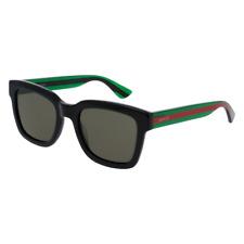 Occhiali da Sole GUCCI GG0001S originali nero verde  002