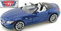 BMW Z4 2010 - Blue Metallic 1/24 Classic Model Car, Motormax