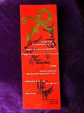 The NPG (Prince's band) ★ 1994 autographs ★ Mayte Garcia, Sonny, Tommy, Morris ★