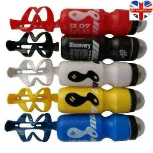 Water Drink Bottle and Holder Cage Popular 750ML Mountain Bike Bicycle Cycling