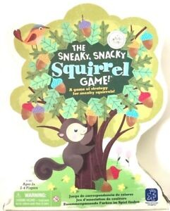 Sneaky Snacky Squirrel Game Replacement Pieces Educational Insights