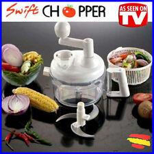 SWIFT CHOPPER Rallador Picador Cortador y secador FRUTAS Y VERDURAS Visto en TV