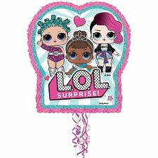 """Party City LOL Surprise! Pull String Pinata, 21 3/4"""" x 17 1/2"""" x 3"""""""
