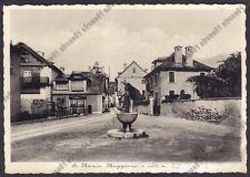 VERBANIA SANTA MARIA MAGGIORE 108 VIGEZZO Cartolina 1940 MA viaggiata 1949