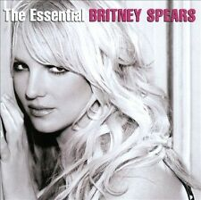 BRITNEY SPEARS - THE ESSENTIAL BRITNEY SPEARS (2 CD's, 2013, USED, LIKE NEW)