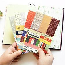 8 Sheets/lot Paper Stickers Scrapbook Calendar Diary Planner Decor Accessories