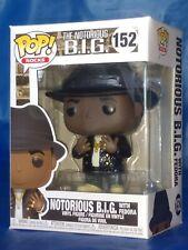 Notorious B.I.G. W/ Fedora Funko Pop Vinyl Figure #152 Bad Boy Biggie In Stock