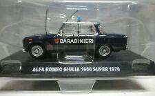 A.R. Giulia 1600 Super 1970 - De Agostini Collection- Scala 1/43- Nuovo -Vintage